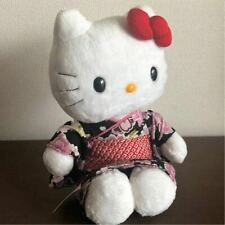 Hello Kitty Kyoto Edizione Limitata Kimono Yukata Nero Peluche Giocattoli 2005