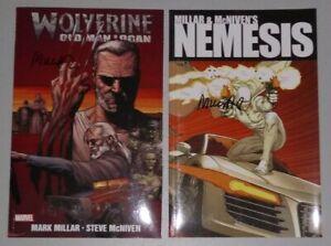 WOLVERINE OLD MAN LOGAN 66-72 Graphic Novel 2013 Nemesis 2010 Mark MILLAR Signed