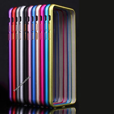 APPLE IPHONE 7/7+ PLUS ALUMINIUM METAL CASE SHELL COVER PROTECTOR TEMPERED GLASS