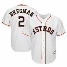 ALEX BREGMAN HOUSTON ASTROS YOUTH LARGE 14/16 WHITE MLB BOYS JERSEY