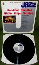 BENNY GOODMAN LIONEL HAMPTON I Giganti Del Jazz Vol 4 ORIG 1st ITALY 1980 CURCIO