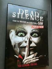 Dead Silence DVD Horror movie Unrated scary paranormal