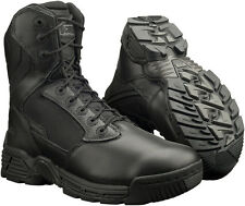 "Magnum Mens Stealth Force 5198 8"" Side Zip Soft Toe Tactical Combat Police Boots"