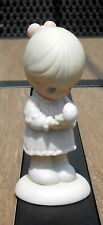 "Precious Moments Figurine - ""Always in His Care"" - 1990 Easter Seals Edition"