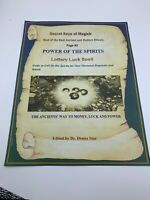 Book of Shadows LOTTERY LUCK Spell Best Spells Magick Detailed Instructions