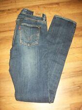 Levi's Skinny Fit Jeans - Girls Size 16 Regular - Dark Wash with STUDS