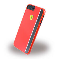 Schutzhülle Ferrari für iPhone 7 Plus Hardcase Case Handyhülle Hülle Cover Rot