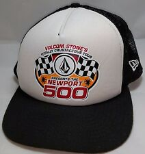 NEWPORT 500 Volcom Crustaceous Tour snapback hat cap adjustable trucker surf