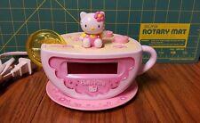 Hello Kitty Alarm Clock with AM FM Radio and Night Light