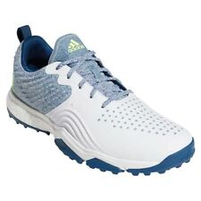 Nuevo Para Hombres Adidas Adipower 4 orged S Zapatos de Golf Marine/Blanco-elija su tamaño!