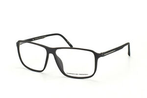 PORSCHE DESIGN Men Women Black Titanium Eyeglasses frame cold glazing P'8269
