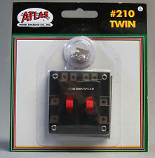 ATLAS HO TWIN OPERATE & CONTROL REVERSING SWITHES ho track atl power 210 NEW