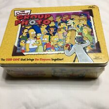 The Simpsons Group Photo Card Game New Sealed 2-4 Players