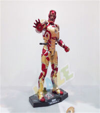 HC Iron Man Diecast Mark MK42 with LED Light 1/6th Scale Action Figure Toys