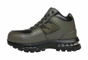 Mens Mountain Gear D-Day Leather Mesh 2 Mens Boots Size 8.5 Olive /Camo