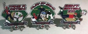 COOPERSTOWN DREAMS PARK 2020 COLLECTIBLE SET OF 3 BASEBALL PINS