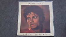 "Michael Jackson-p.y.t. (Pretty Young Thing)/Carlsen INSTR. 12"" vinile discoteca"