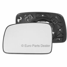 Left passenger side mirror glass with clip for Land Rover Freelander 06-10 heat