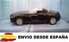 1/43 BMW Z4 NEGRO COCHE DE METAL ESCALA COLECCION DIE CAST ENVIO CERTIFICADO