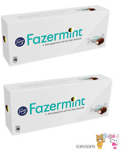 2 x Fazer Fazermint chocolates Original Chocolate 270g 9.5 oz