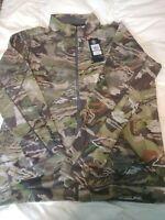 Under Armour Mens XXL Early Threadborne Fleece Forest Camo Hunting Jacket