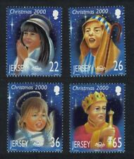 Jersey Christmas Children's Nativity Play 4v MNH SG#968-971