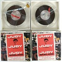 Judy Garland ‎– Judy At Carnegie Hall - Judy In Person - COPPIA BOBINE - RARE