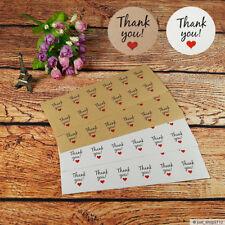 Aufkleber *THANK YOU* DANKE ⌀ 3cm Sticker Etikett Siegel Hochzeit Weihnachten