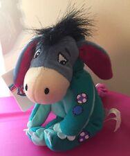 "New 8"" Dinosaur Eeyore Costume Plush Disney Store Winnie the Pooh"