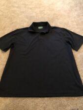 Ben Hogan Men's Black Athletic Golf Polo Size Large