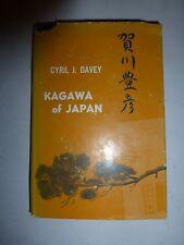 Kagawa of Japan by Cyril J Davey, HBDJ 1960 First Edition B45