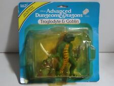 LJN Advanced Dungeons And Dragons Action Figures Troglodyte & Goblin D&D EVIL