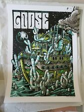 Goose the band Poster Yarmouth drive in concert 9/11-12/20 numbered not Phish !!