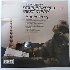 vinyl lp record THE WORLD OF YOUR HUNDRED BEST TUNES The Top Ten, Decca spa 112