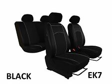 FORD FIESTA Mk6 2001 - 2008 ECO LEATHER SEAT COVERS MADE TO MEASURE FOR YOUR CAR