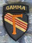 Vietnam War Theater Special Forces Green Beret MACV SOG DELTA GAMMA Patch CIA