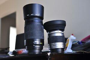 Nikon AF 28-80mm and 70-300mm G FX lenses  Nikon D70,80,90,200,300,7000,600,800