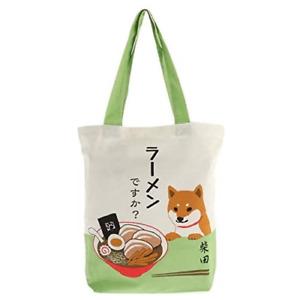 Kotobuki Japanese Student Women Shoulder A4 Tote Bag Handbag Ramen Shiba Inu Dog