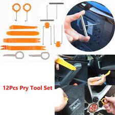12Pcs Car Trim Door Panel Removal Molding Kit Radio Pry Tool Set Interior DIY