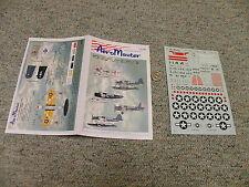AeroMaster  decals 1/72 72-182 Kingfisher Part I    L19