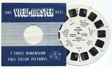 COSTUMES of GREECE 1957 Belgium-made View-Master Single Reel 2185