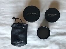 Lot of Camera Accesories - 1 Tele Adapter, 1 Macro Lens, 1 Telephoto Lens