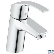 "GROHE 32467 Eurosmart Single Lever Basin Mixer 1/2"" S-Size, No Waste, 3246720L"
