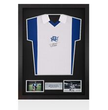 Framed Trevor Francis Front Signed Birmingham City Shirt - 1976 Autograph