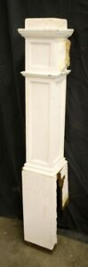"51"" Antique Vintage Victorian Oak SOLID Wood Wooden Staircase Stair Newel Post"