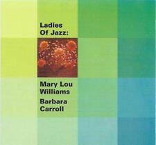 MARY LOU WILLIAMS BARBARA CARROLL Ladies Of Jazz CD BILL CLARK HERB WASSERMAN