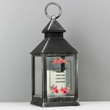 Personalised Lantern LED Light Home Candle Holder Christmas Gift Decoration Gift