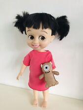 Rare Disney store Boo Animator Doll Monsters Inc Girl W Mike Teddy