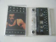 PETER ANDRE NATURAL CASSETTE TAPE MUSHROOM UK 1996