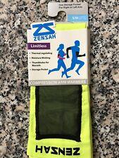 Zensah Compression Arm Warmers with Storage Pocket